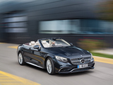 Images of Mercedes-AMG S 65 Cabriolet (A217) 2016