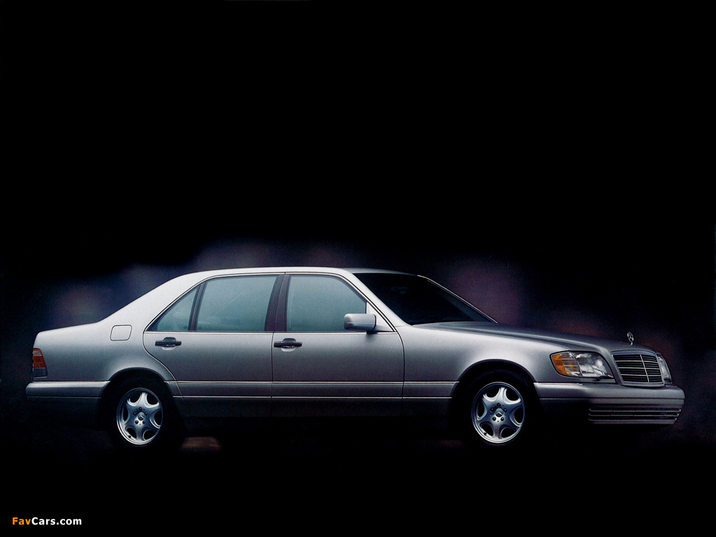 Mercedes Benz S Klasse W140 1991 98 Images 1024x768