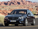 Mercedes-Benz S 500 AMG Sports Package (W222) 2013 photos