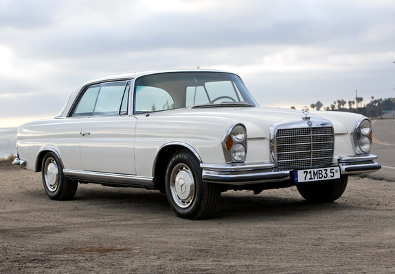 Photos Mercedes Benz 280 Se 3 5 Coupe Us Spec W111 1969 71 278940 on benz w111