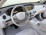 Photos of Mercedes-Benz S 500 (W222) 2013