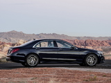 Photos of Mercedes-Benz S 500 AMG Sports Package (W222) 2013