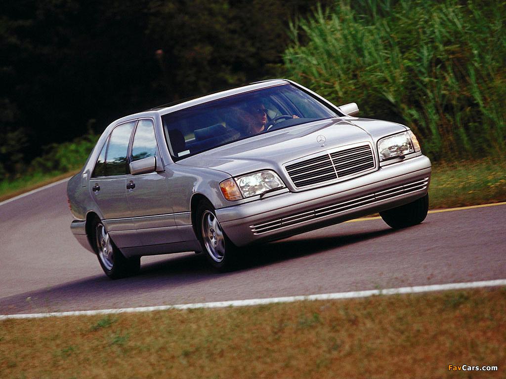Pictures Of Mercedes Benz S Klasse W140 1991 98 1024x768