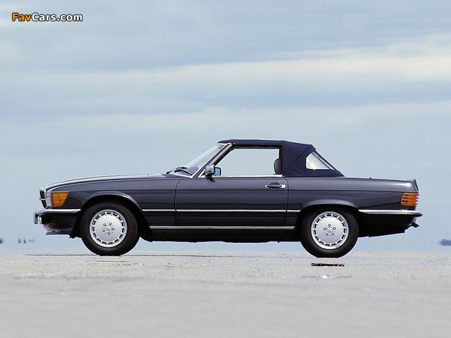 Mercedes benz 500 sl r107 1980 85 images 640x480 for Mercedes benz 640