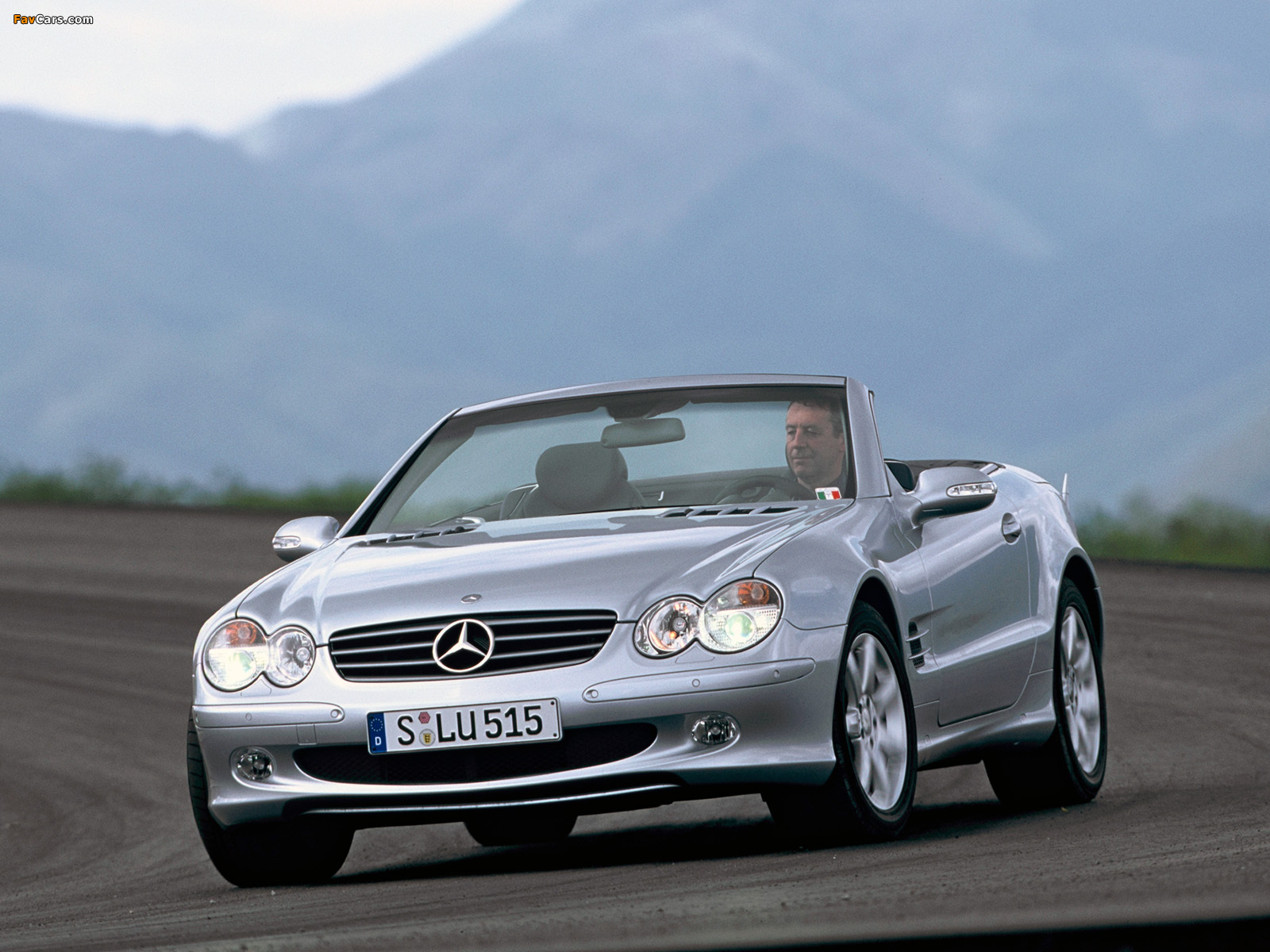 Mercedes Benz >> Mercedes-Benz SL 350 (R230) 2001–05 wallpapers (1600x1200)