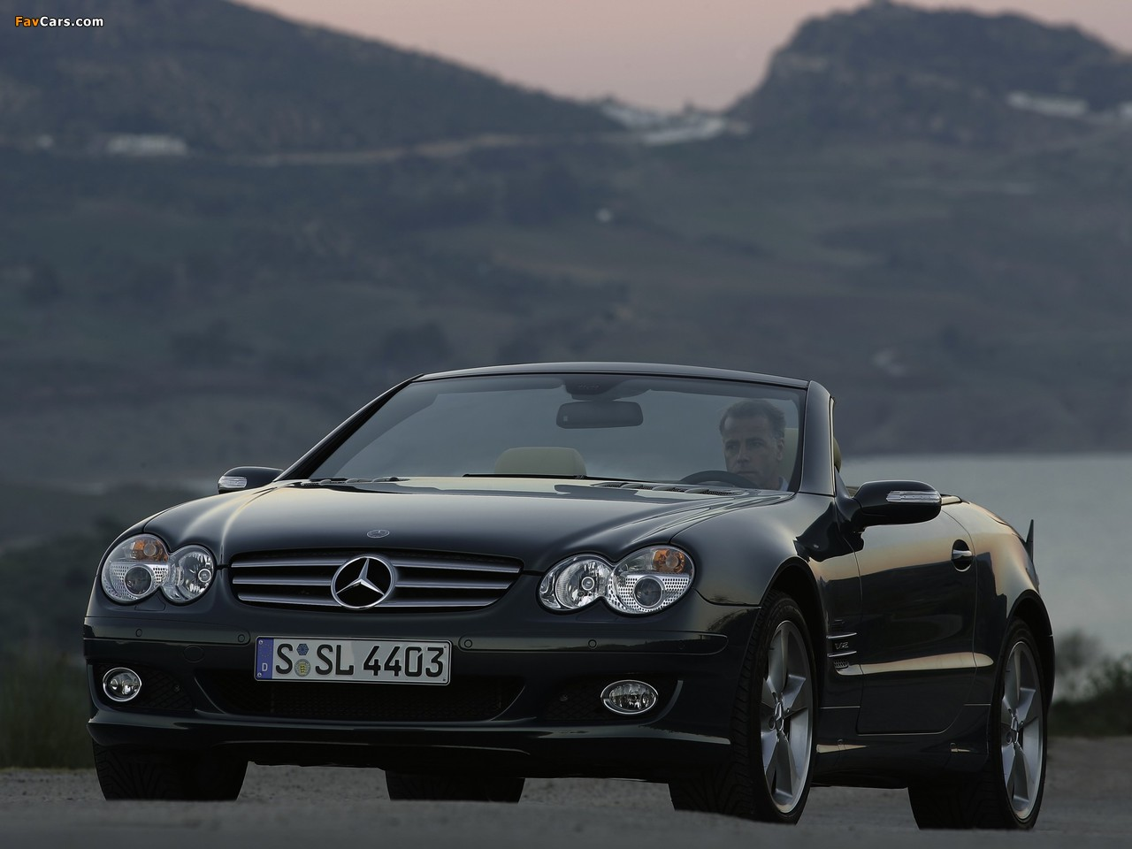 mercedes benz sl 600 r230 2005 08 wallpapers 1280x960. Black Bedroom Furniture Sets. Home Design Ideas