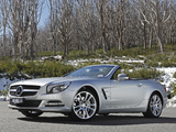 Mercedes-Benz SL 500 AU-spec (R231) 2012 photos