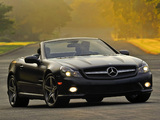 Pictures of Mercedes-Benz SL 550 Night Edition (R230) 2010