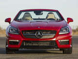 Images of Mercedes-Benz SLK 55 AMG US-spec (R172) 2012