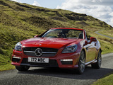 Images of Mercedes-Benz SLK 55 AMG UK-spec (R172) 2012