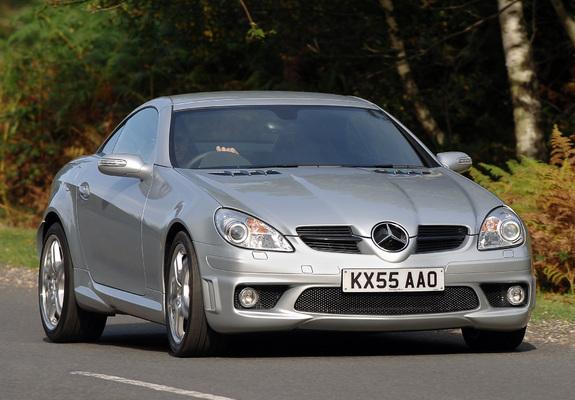 Mercedes-Benz SLK 55 AMG UK-spec (R171) 2004–08 photos ...