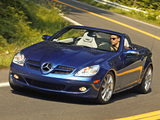 Mercedes-Benz SLK 350 US-spec (R171) 2004–07 wallpapers