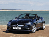 Mercedes-Benz SLK 250 CDI AMG Sports Package UK-spec (R172) 2012 images
