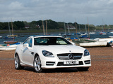 Mercedes-Benz SLK 250 AMG Sports Package UK-spec (R172) 2012 images