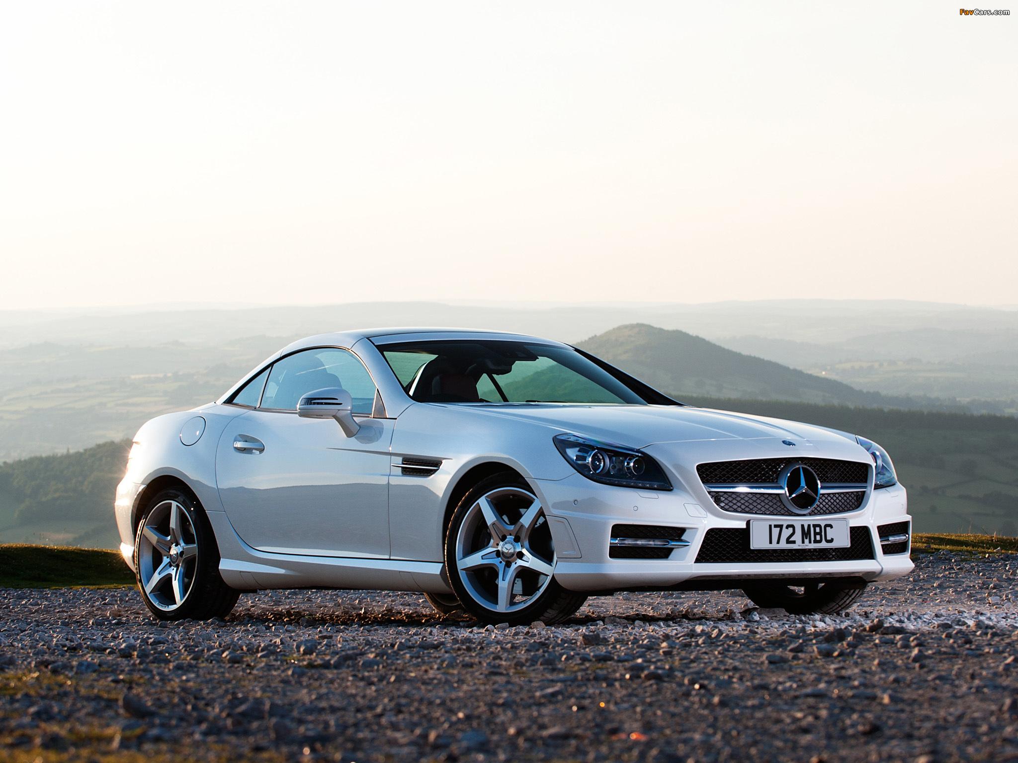 Mercedes benz slk 250 amg sports package uk spec r172 for 2012 mercedes benz slk