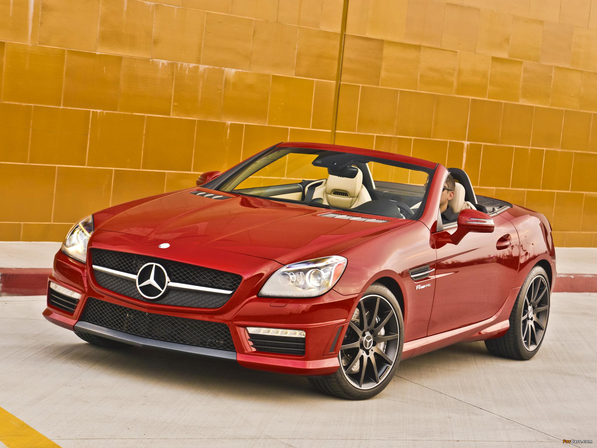 Mercedes benz slk 55 amg us spec r172 2012 pictures for 2012 mercedes benz slk