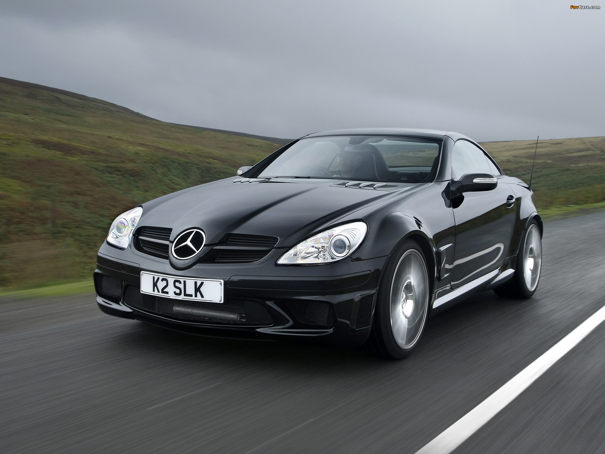 Photos of mercedes benz slk 55 amg black series uk spec for Mercedes benz slk 2006