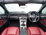 Photos of Mercedes-Benz SLK 250 AMG Sports Package UK-spec (R172) 2012