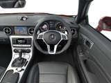 Photos of Mercedes-Benz SLK 55 AMG UK-spec (R172) 2012