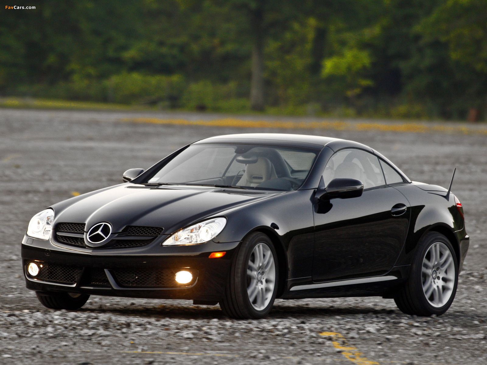 Pictures of mercedes benz slk 300 us spec r171 2009 11 for Mercedes benz slk 300