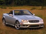 Mercedes-Benz SLK 320 Sports Package US-spec (R170) 2000–04 wallpapers
