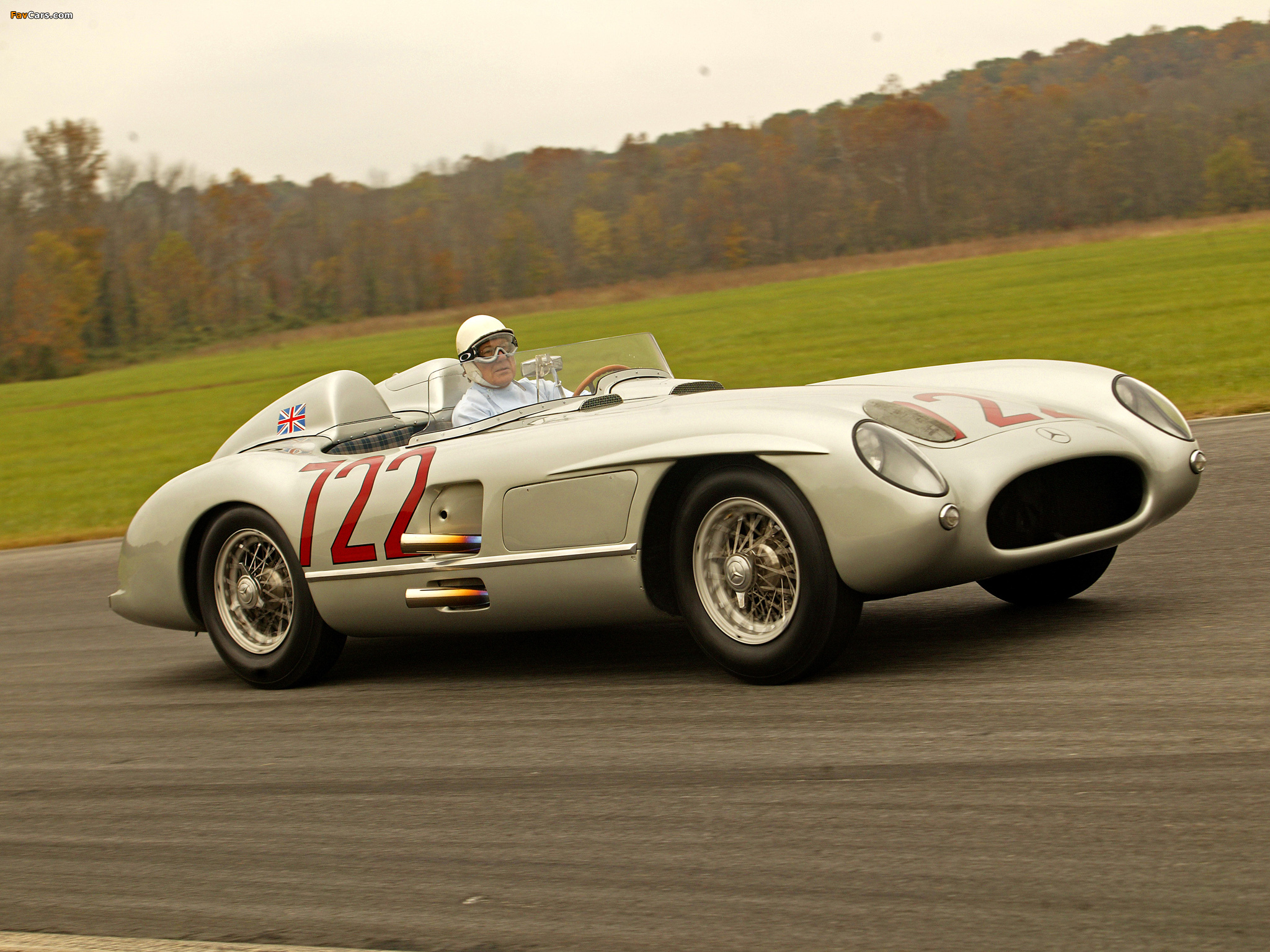 Pictures Of Mercedes Benz 300slr Mille Miglia W196s 1955
