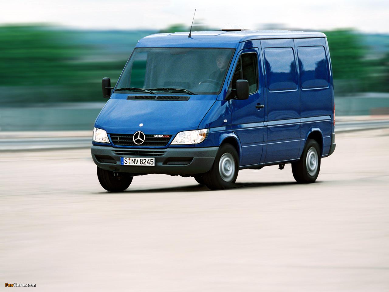 Mercedes Benz Sprinter Van 2000 06 Wallpapers 1280x960