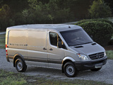 Mercedes-Benz Sprinter 2500 Cargo (W906) 2006–13 photos