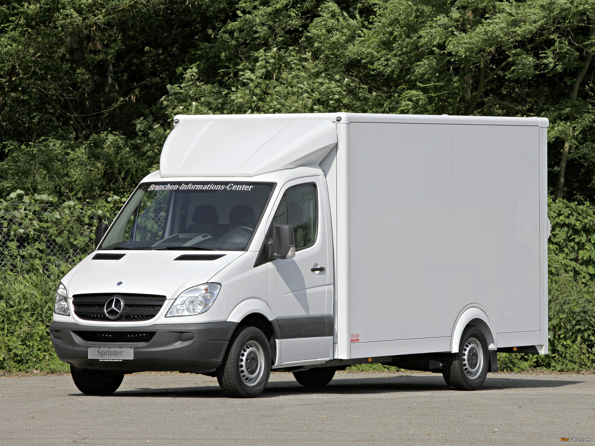 mercedes benz sprinter box van w906 2006 photos 2048x1536. Black Bedroom Furniture Sets. Home Design Ideas