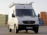 Photos of Mercedes-Benz Sprinter High Roof Van (W906) 2006–13