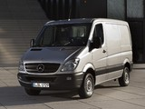Mercedes-Benz Sprinter Van (W906) 2006–13 wallpapers
