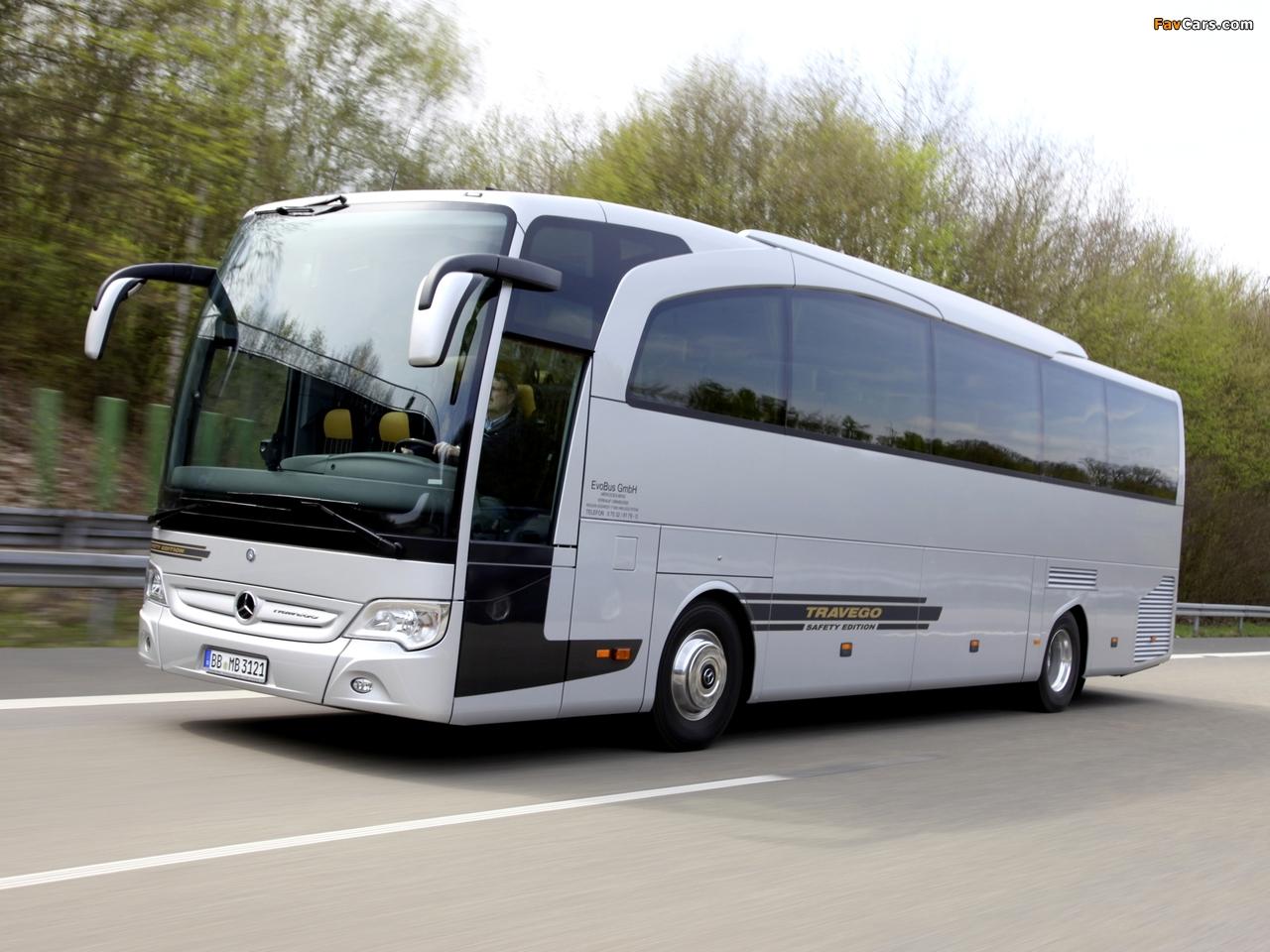 Mercedes Benz New Travego