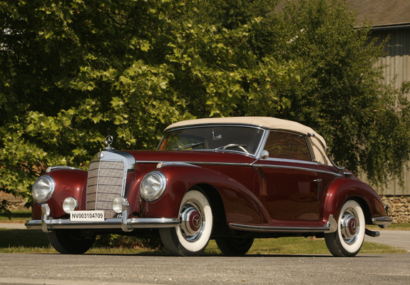 Mercedes benz 300s cabriolet a w188 1952 55 pictures for Mercedes benz 300s