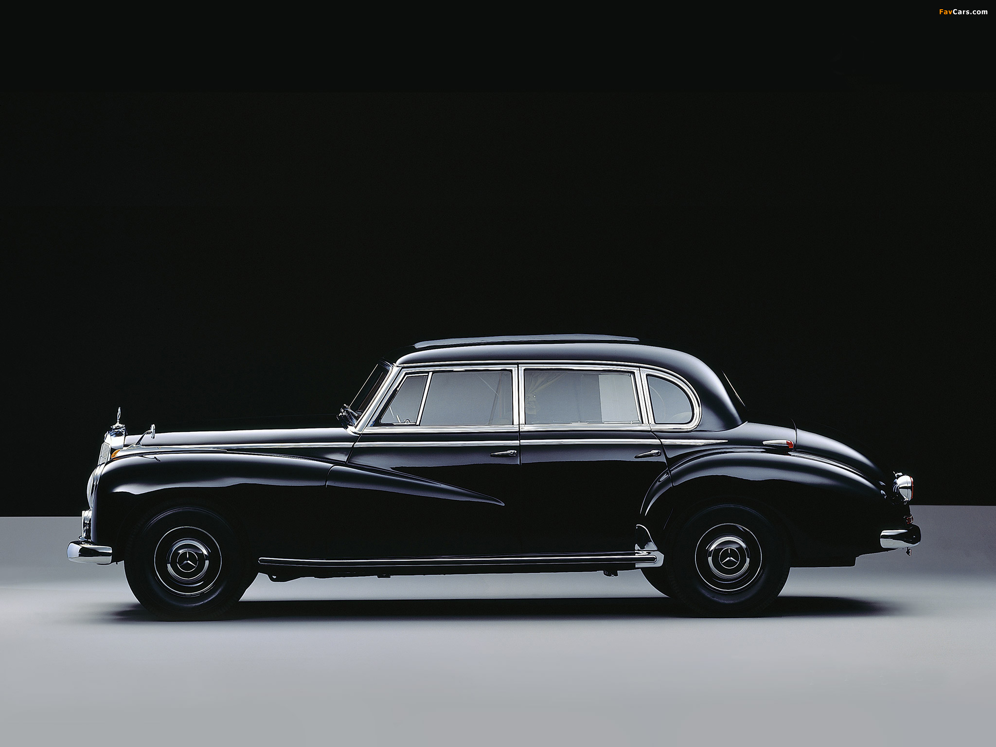 Wallpapers of mercedes benz 300 limousine w186 1951 57 for 57 mercedes benz