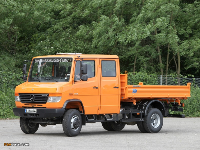 Mercedes benz vario double cab truck 4x4 w670 1996 for Mercedes benz truck 4x4