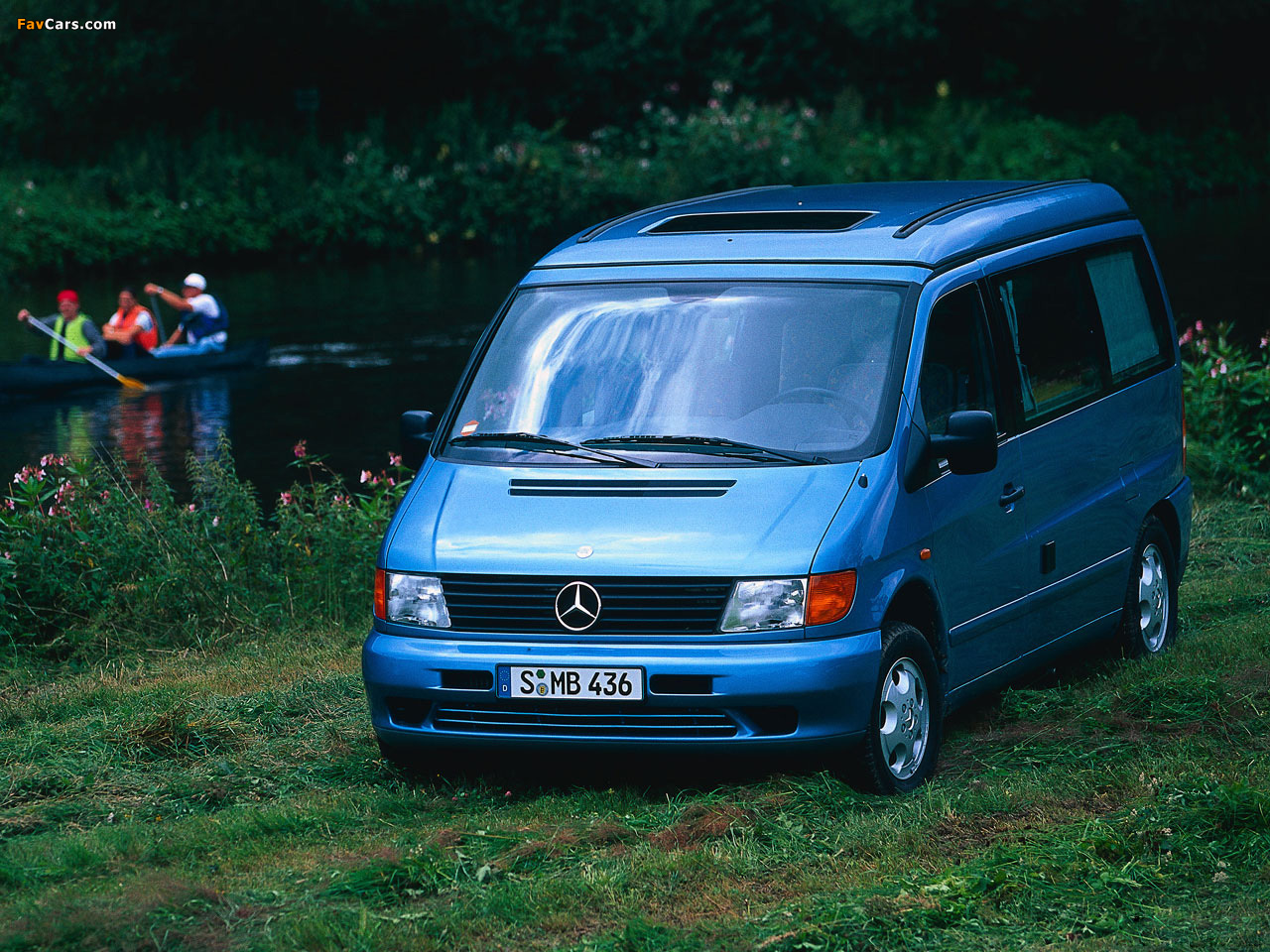 mercedes benz vito marco polo w638 1996 2003 pictures. Black Bedroom Furniture Sets. Home Design Ideas