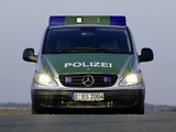 Pictures of Mercedes-Benz Vito Polizei (W639) 2003–10