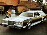 Mercury Cougar Villager Wagon 1977 wallpapers