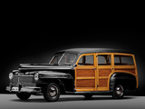Mercury Eight Station Wagon (29A-79) 1942 pictures