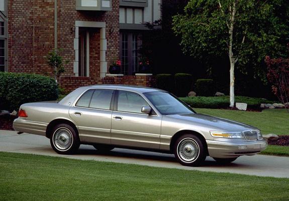 Mercury Grand Marquis 1995–97 images (1024x768)
