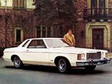 Mercury Monarch 2-door Sedan 1975–76 images