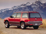 Mercury Mountaineer 1997–98 images