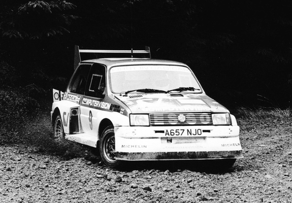 MG Metro 6R4 Group B Rally Car Prototype 1983 images