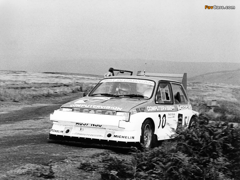 MG Metro 6R4 Group B Rally Car Prototype 1983 Wallpapers 800 X 600