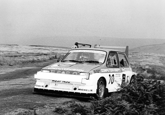 MG Metro 6R4 Group B Rally Car Prototype 1983 wallpapers