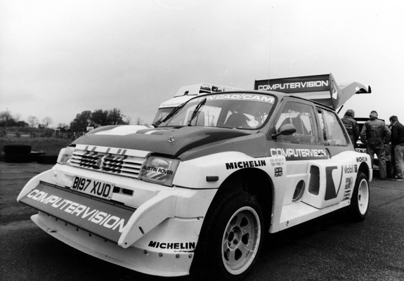 MG Metro 6R4 Group B Rally Car 1984–86 wallpapers