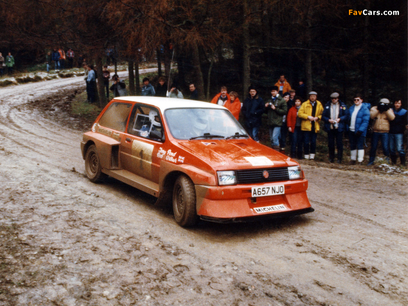 Pictures of MG Metro 6R4 Group B Rally Car Prototype 1983 (800 x 600)