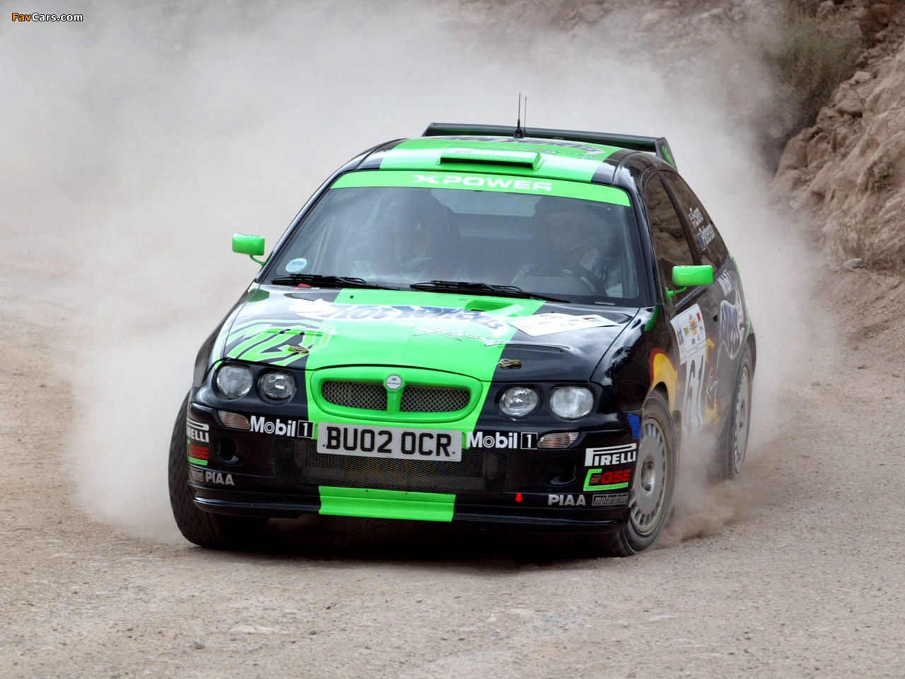 Wallpapers of MG ZR XPower 2002–04 (1280 x 960)