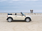 Mini Cooper Cabrio (R57) 2009–10 wallpapers