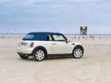 Photos of Mini Cooper Cabrio (R57) 2009–10